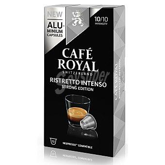 Nespresso Café ristretto intenso en cápsulas Royal compatible con 10 unidades de 5,3 g