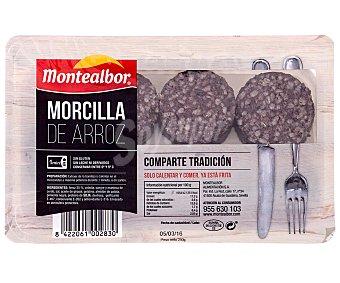 Los Madroños Morcilla de Arroz Frita 250 Gramos