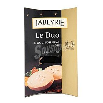 Labeyrie Duo foie gras de oca 80 g