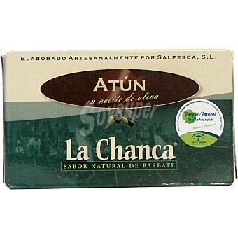 LA CHANCA Atun en aceite de oliva Lata 85 g neto escurrido