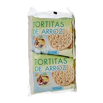 Hacendado Tortita arroz Pack 4 paquetes - 124 g