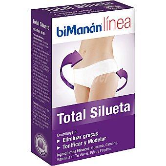BIMANAN LINEA Total Silueta Comprimidos para eliminar grasas y tonificar envase 28,8 g Envase 28,8 g