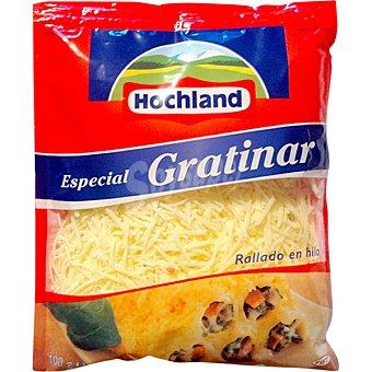 HOCHLAND Queso rallado especial gratinar bolsa 50 g