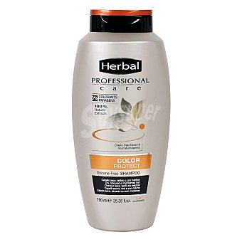 Herbal Professional care champú color protect cabello teñido Bote 750 ml