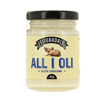 Feliubadalo Salsa alioli Feliubadaló Tarro 95 g