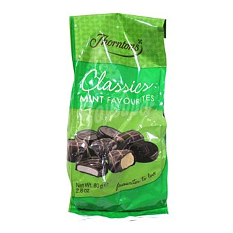 Thorntons Chocolate con menta 80 g