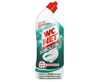 WC Net Gel limpiador WC desincrustante Bote 800 ml