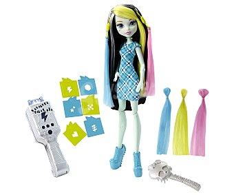 Monster High Muñeca Frankie Stein Peinados megavólticos 1 unidad