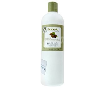 Babaria Gel de baño, aceite de almendras orgánico 600 Mililitros