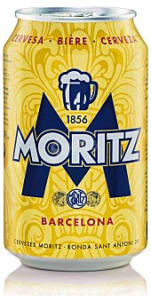 Moritz Cerveza Lata 33 cl