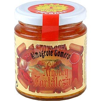 ARGODEY FORTALEZA Salsa almogrote gomero con queso picante frasco 200 g Frasco 200 g