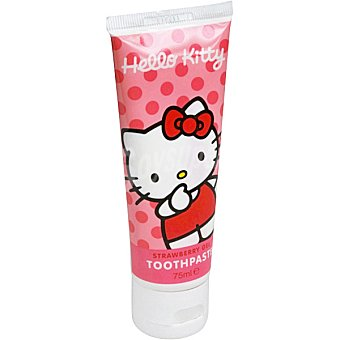 Hello Kitty Pasta dentífrica infantil sabor fresa Tubo 75 ml
