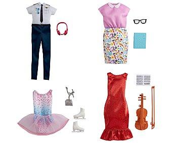 Barbie Pack de ropa moda de profesiones barbie.