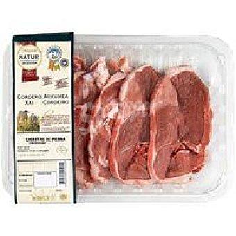 T. Aragón Eroski NATUR Chuleta-pierna de cordero 500 g