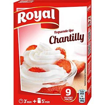 Royal Preparado tipo chantilly 9 raciones caja 72 g 72 g