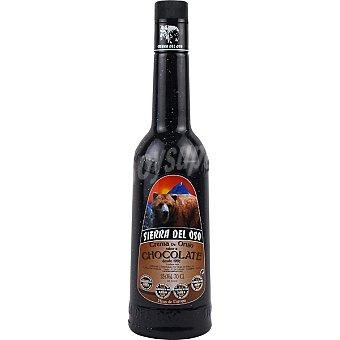 SIERRA DEL OSO crema de orujo sabor chocolate  botella 70 cl