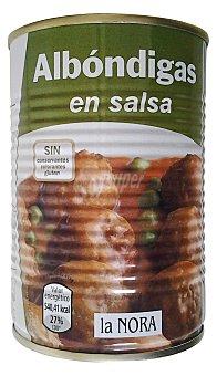 La Nora Albondigas en salsa Bote 415 g