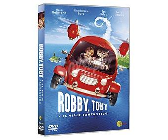 Sony Robby, Toby y el viaje fantástico,2017, película en Dvd. Género: Animación, familiar, aventuras. Edad: + 6 años