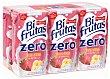 Fresa y platano zumo de fruta con leche y vitaminas pack 6 envases 200 ml Bifrutas Pascual