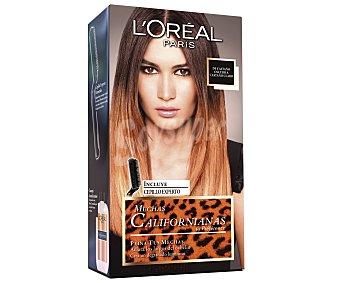 Recital Preference L'Oréal Paris Mechas Californianas de Castaño Oscuro a Castaño Claro 1 ud