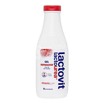 Lactovit Gel de ducha reparador Lactourea 600 ml