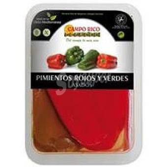 Campo Rico Pimiento asado rojo-verde entero Bandeja 500 g