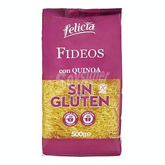 Felicia Fideo con quinoa pasta sin gluten Paquete 500 g