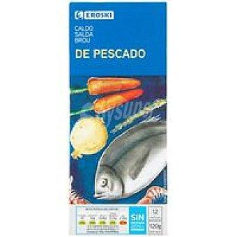 Eroski Caldo de pescado 12 pastillas Caja 120 g