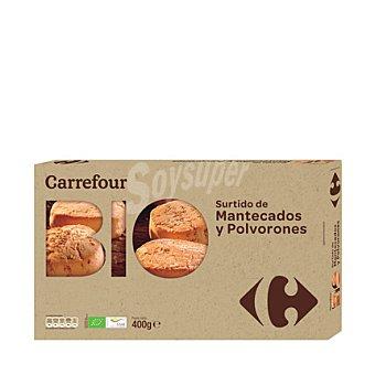 Carrefour Bio Surtido polvoron y mantecado 400 g