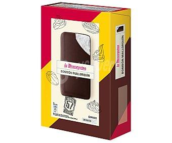 La Menorquina Helado de nata bañado en chocolate 6 x 50 ml