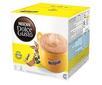 Dolce Gusto Nescafé Nesquik para cafetera Caja 16 capsulas