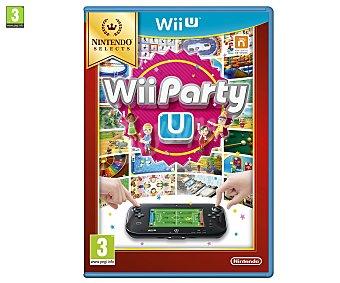 Minijuegos Videojuego Wii Party U edición Selects para Nintendo Wii U. Género: minijuegos. Recomendación por edad pegi: +3