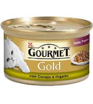 Gourmet Purina Gourmet gold duo conejo/hígado Lata de 85 grs