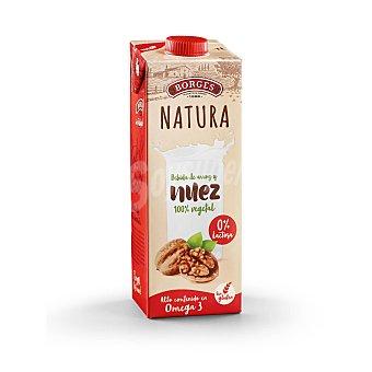 Borges Natura bebida de arroz y nuez sin lactosa Envase 1 l