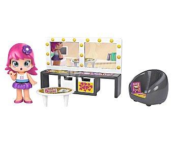 Pin y pon Conjunto de juego Habitación con figura y accesorios, Piny pinypon Piny Habitaciones