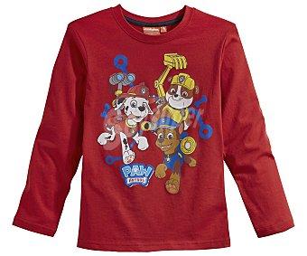 Patrulla Pijama largo para niño CANINA, color rojo, talla 3