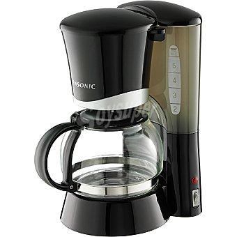 Ansonic CP-2011 Cafetera de goteo capacidad para 4 a 6 tazas
