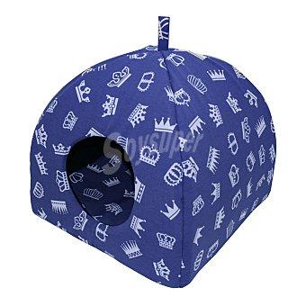Texpet Cuna para gatos modelo igloo talla 1 medidas 40x40x40 cm 1 unidad