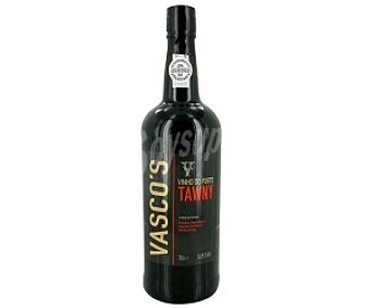 VASCO´S Vino de Oporto tawny Botella 75 centilitros