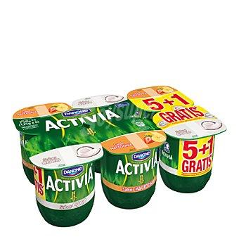 Activia Danone Activia sabor coco/macedonia Activia Pack de 6x125 gr