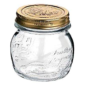 Bormioli Bote Redondo de Cristal 4 Estaciones 0,25 L. - Transparente 1 ud