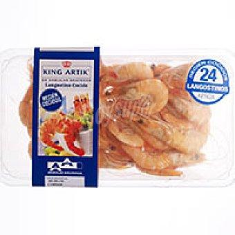 Angulas Aguinaga Langostino cocido Bandeja 300 g