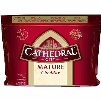 CATHEDRAL CITY Queso curado Cheddar 200g