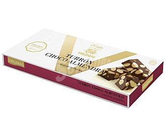 Virginias Turrón de chocolate con almendras 185gr