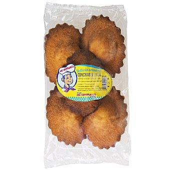 Panadería Los Compadres conchas artesanas envase 250 g 5 unidades