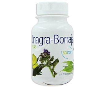 Sanon Complemento alimenticio Onagra y Borraja 690 Gramos