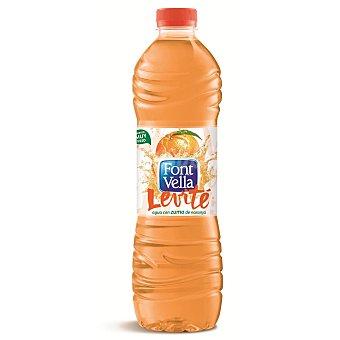 Font Vella Agua sabor naranja Levité 1,25 litros