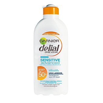 Delial Garnier Leche solar sensitive fp 50 bote 400 ml