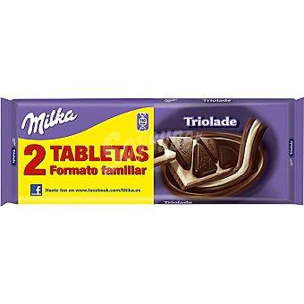 Milka Triolade Pack 2x300 g