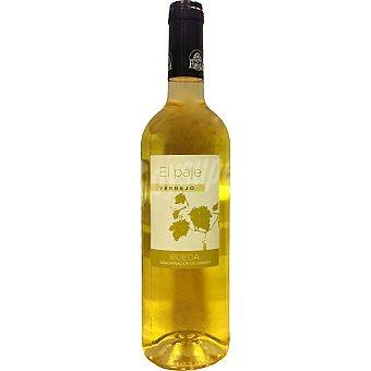 EL PAJE Vino blanco verdejo D.O. Rueda Botella 75 cl